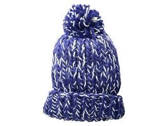 San Diego Hat Company KNH3590 Chunky Marled Knit Beanie with Pom