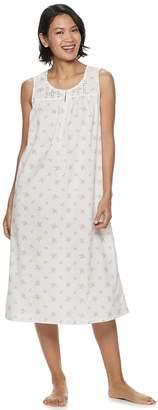 Croft & Barrow Women's Lace-Trim Nightgown