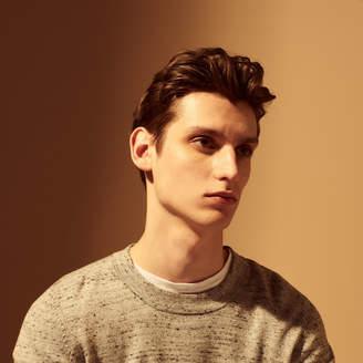 Sandro Round neck marl sweater