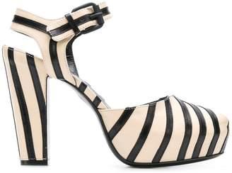 Sonia Rykiel striped sandals