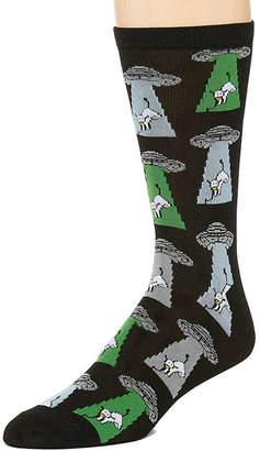 Novelty Licensed Novelty Socks 1 Pair Crew Socks-Mens