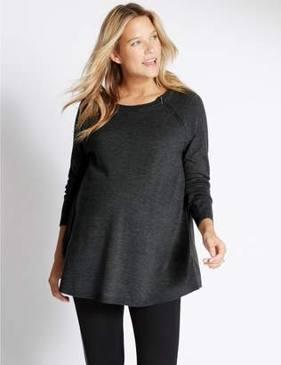 Marks and Spencer Maternity Feeding Knitted Jumper