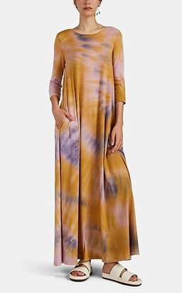 Raquel Allegra Women's Tie-Dyed Cotton-Blend Maxi Dress