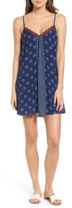 Women's Band Of Gypsies Embroidered Slipdress $45 thestylecure.com