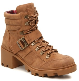 G by Guess Rollin Platform Combat Boot