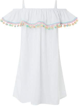 Accessorize Girls Palermo Pom Pom Dress