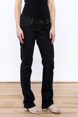 Lilac Maternity Straight Leg Jeans
