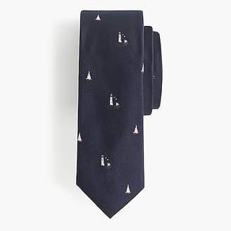J.Crew Silk tie in harbor print