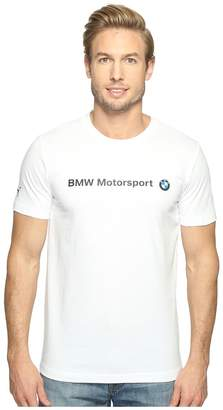 Puma BMW MSP Logo Tee Men's Short Sleeve Pullover