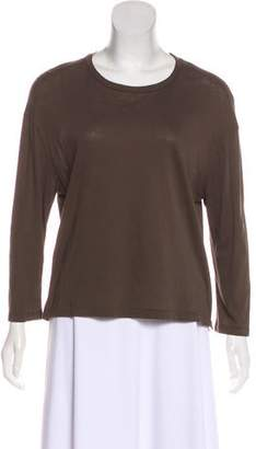 Organic by John Patrick Long Sleeve Round Neck Top