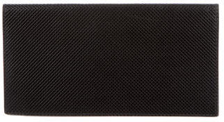 Bottega Veneta Bottega Veneta Textured Checkbook Holder