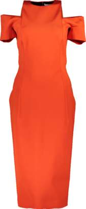 Victoria Beckham Cut Out Fitted Dress