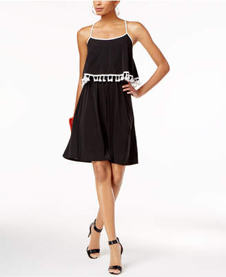 NY Collection Popover A-Line Dress $50 thestylecure.com