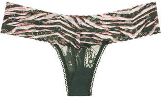 Victoria's Secret The Lacie Floral Lace Thong Panty