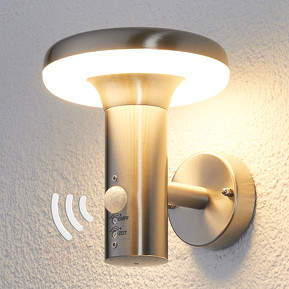 Bewegungsmelder-LED-Außenwandlampe Pepina