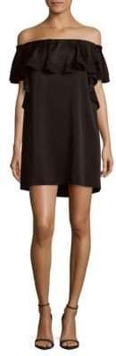 Rachel Zoe Madelyn Satin Back Crepe Dress