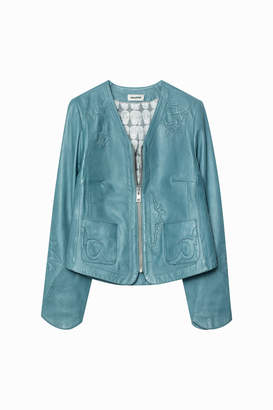Zadig & Voltaire Vencia Patch Jacket