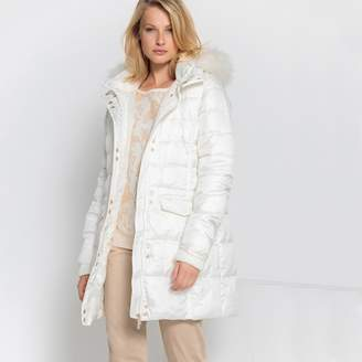 01c4616dae5c Womens White Winter Jackets With Hood - ShopStyle UK