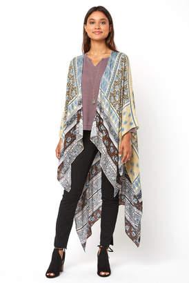 Saachi Floral Patchwork Duster Kimono