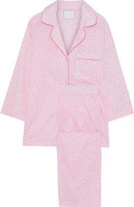 Three J NYC Kate Printed Cotton-poplin Pajama Set