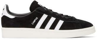 adidas Black Suede Campus Sneakers