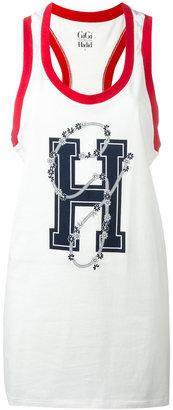 Tommy Hilfiger oversized logo vest $45.68 thestylecure.com