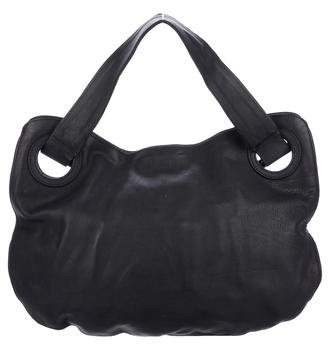 Devi Kroell Leather Satin-Lined Tote