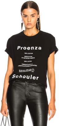 Proenza Schouler Pswl Care Label Tee