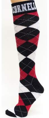 Donegal Bay Cornell Big Red Argyle Dress Sock