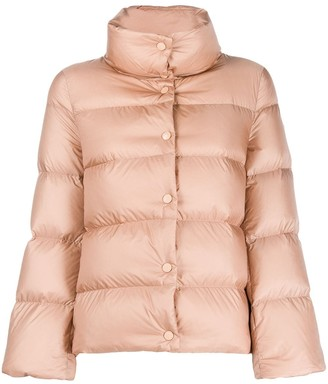 Moncler button-up puffer jacket