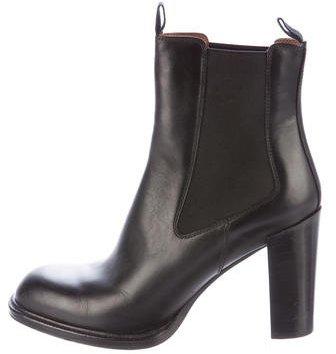CelineCéline Leather Chelsea Boots