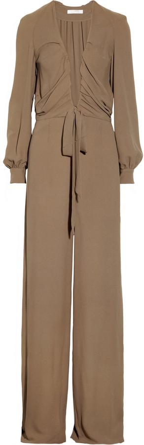 Chloé Silk-crepe jumpsuit