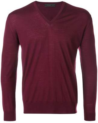 Prada v-neck jumper