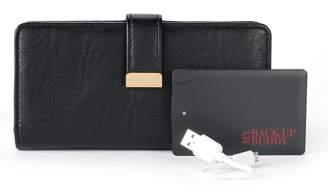 Apt. 9 RFID-Blocking Phone Charging Wallet
