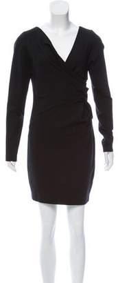 Robert Rodriguez Long Sleeve Mini Dress