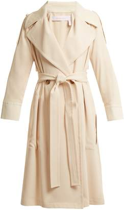 See by Chloe Double-breasted tie-waist trench coat