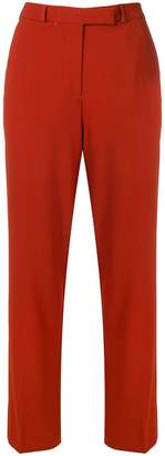 Etro embroidered straight trousers