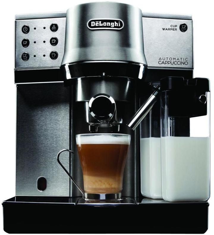 De'Longhi DeLonghi 15-Bar Pump Espresso Maker with Automatic Cappuccino System