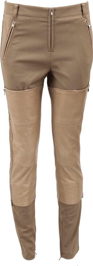 3.1 Phillip Lim Leather Side Zip Panel Wader Pant
