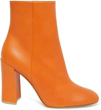 Mansur Gavriel Lamb 95MM Ankle Boot - Yellow Camel