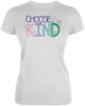 Old Glory Anti-Bully Choose Kind Sketch Juniors Soft T Shirt MD