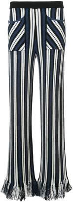Rosie Assoulin striped tassel trousers
