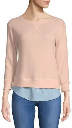 Soft Joie Women's Javiera Layered Sweatshirt