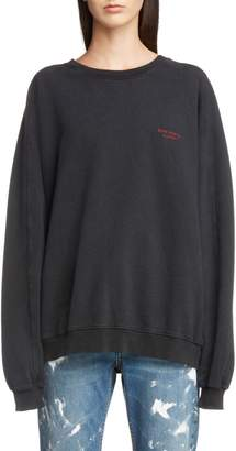 Acne Studios Embroidered Logo Sweatshirt