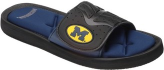 NCAA Collegiate Footwear Michigan Sandals 1 pr Pack