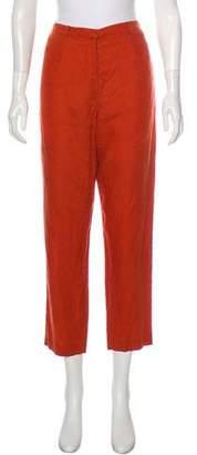 Kenzo Linen High-Rise Pants
