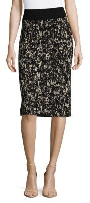 Emkara Printed Pencil Skirt $215 thestylecure.com