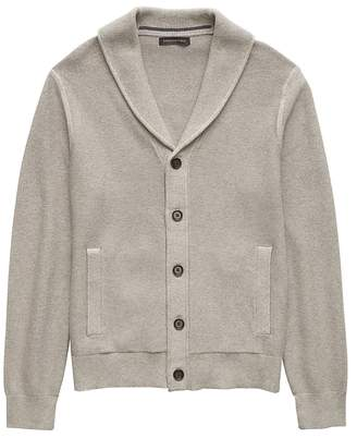 Banana Republic SUPIMA® Cotton Shawl-Collar Cardigan Sweater