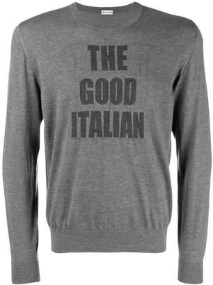 Caruso slogan sweater