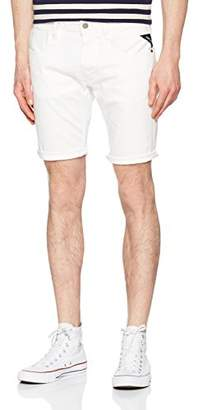 Replay Men's Ma996 .000.8005201 Short, (White 1), (Size: )